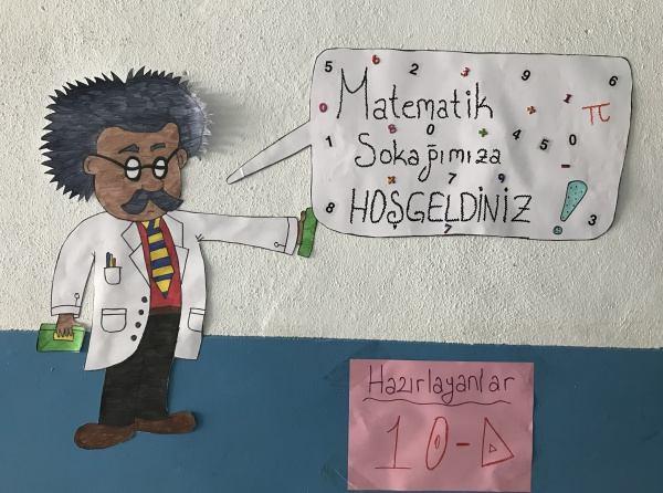 Matematik Sokaği Akyaka Imkb Anadolu Lisesi